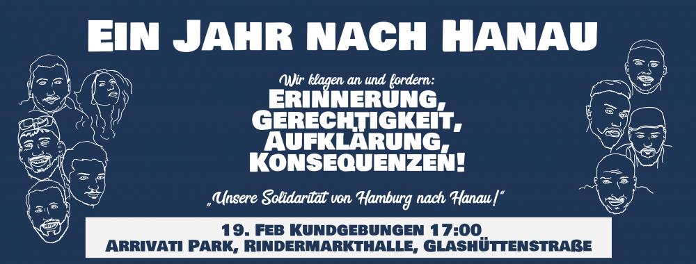 Hamburg nach Hanau